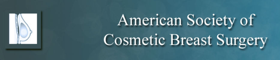 American society of cosmetic breast surgery logo