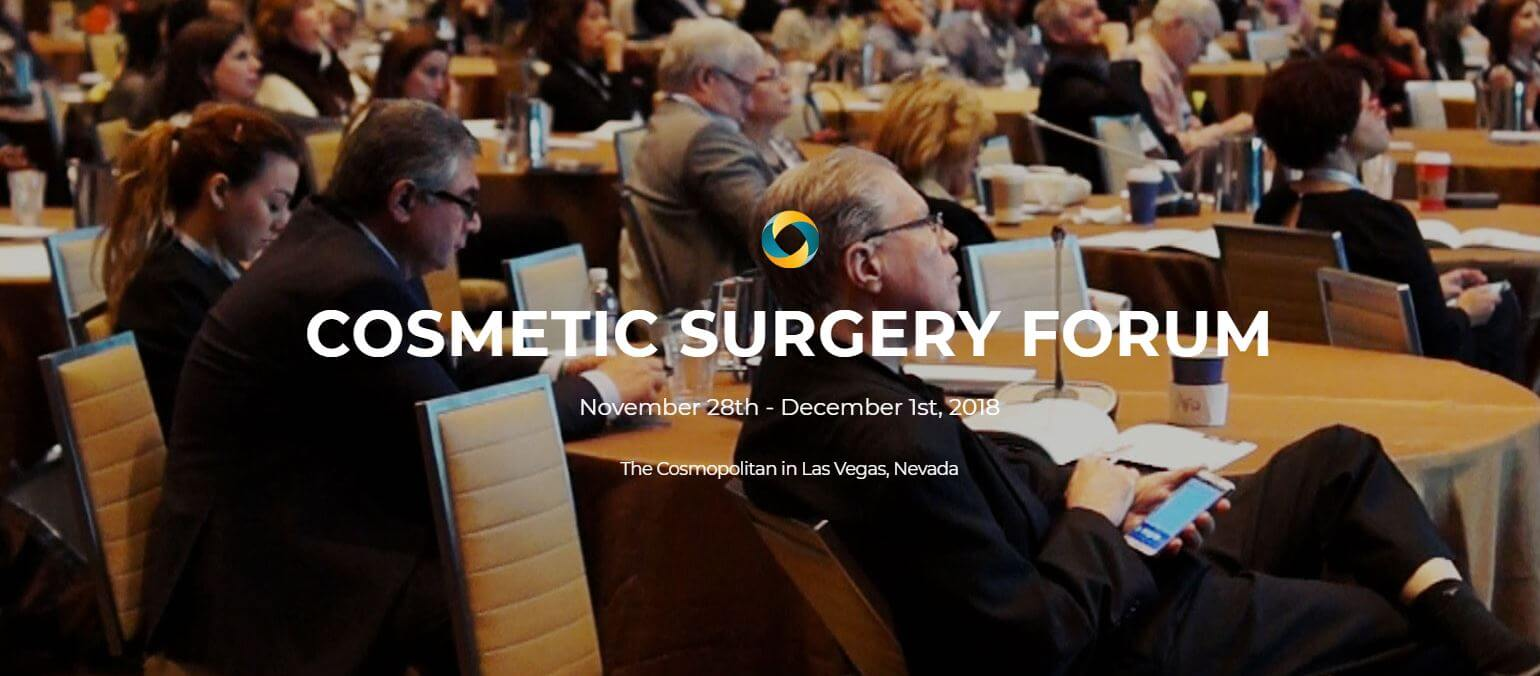 Cosmetic Surgery Forum 2018